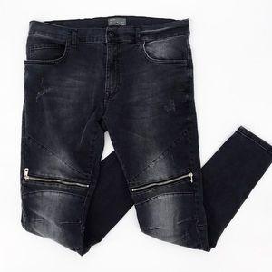 Zara : Men's Distressed Skinny Jeans Size 34 NWT
